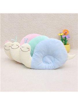 Snail Design Cotton Baby Pillow Prevent Flat Head