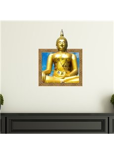 Buddha Design 3D Wall Clock With Good quality