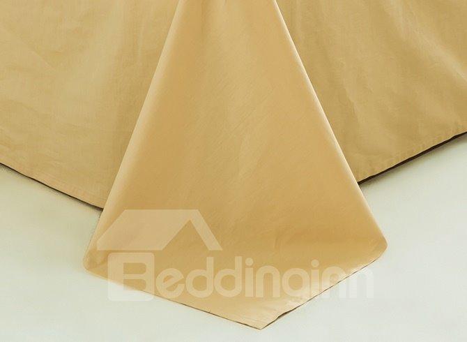 Modern Minimalist Style Cotton 4-Piece Duvet Cover Sets
