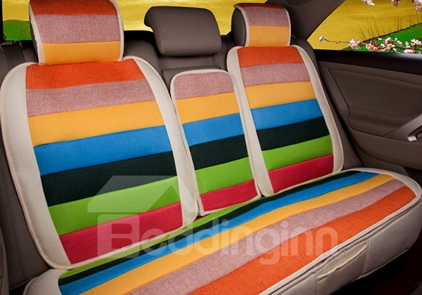 Fashionable Ventilate Iridescent Five Seats Car Seat Cover