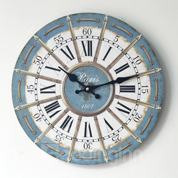 Hot Sale Amazing Rome Retro Wall Clock With Rope