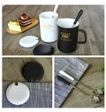 Beautiful Ceramic Large Capacity Coffee Mugs for Lovers