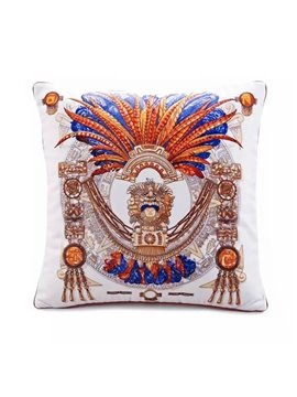 Original Egyptian Pharaoh Paint Throw Pillow