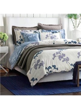Chic American Country Style Cotton 4-Piece Duvet Cover Sets