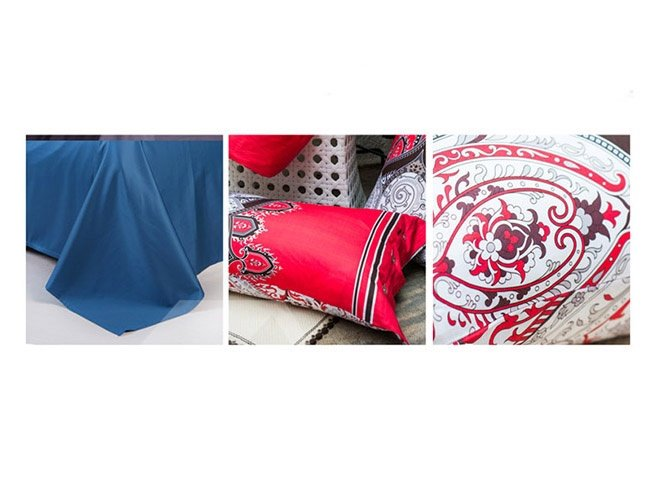 Cozy Aesthetic Jacquard Design Cotton 4-Piece Duvet Cover Sets