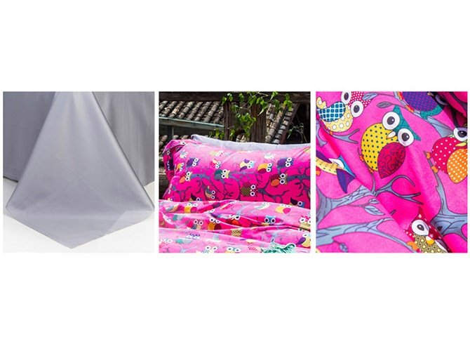 High Quality Cartoon Owl Pattern Cotton 4-Piece Duvet Cover Sets