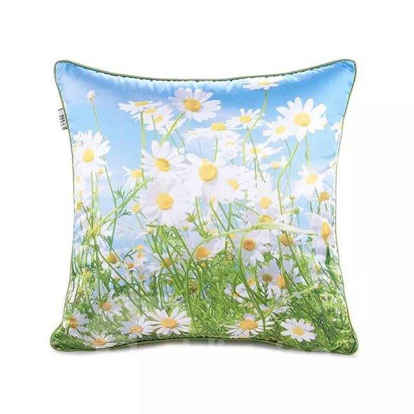 Transvaal Daisys Paint Throw Pillow
