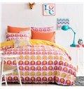 Little Cute Elephant Pattern 100% Cotton Kids Duvet Cover Sets