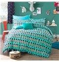 Cute Little British Guard Pattern Kids Cotton 4-Piece Duvet Cover Sets