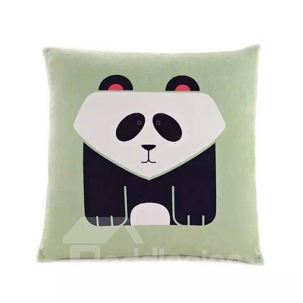 Cartoon Panda Paint Throw Pillow Case