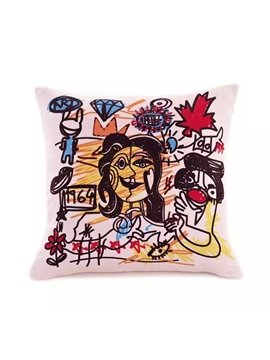 Abstract Lover Paint Throw Pillow Case