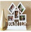White Creative European style Family Photo Frame