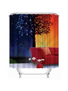 Warm and Fragrant Home Print 3D Shower Curtain