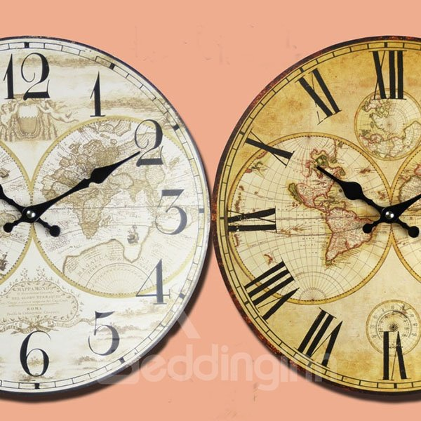 New Classic Creative European Style Wall Clock