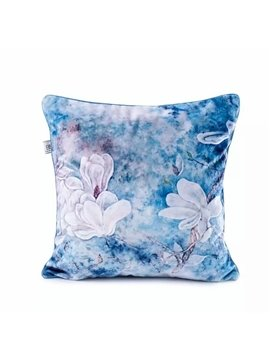 Elegant White Lilies Paint Throw Pillow Case
