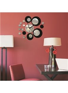 Creative Acrylic Mirror Surface Three-dimensional Wall Clock