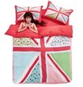 Beautiful Geometric Polyester 4-Piece Duvet Cover Sets