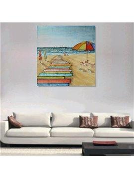 Creative Leisure Beach Hand-Painted Wall Prints