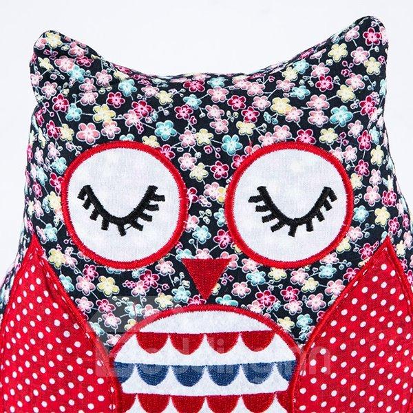 New Style Creative Vivid Owl Shape Throw Pillow