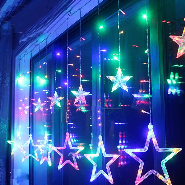 Gorgeous Star Shape Indoor Outdoor String LED Lights