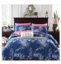 Elegance American Country Style Moundlily 4-Piece Print Cotton Bedding Set