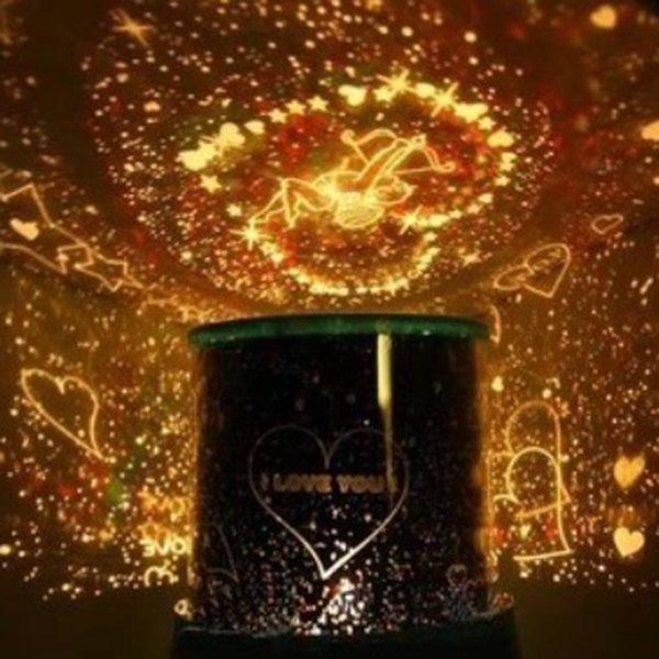 Creative Romantic Cupid Projector LED Light