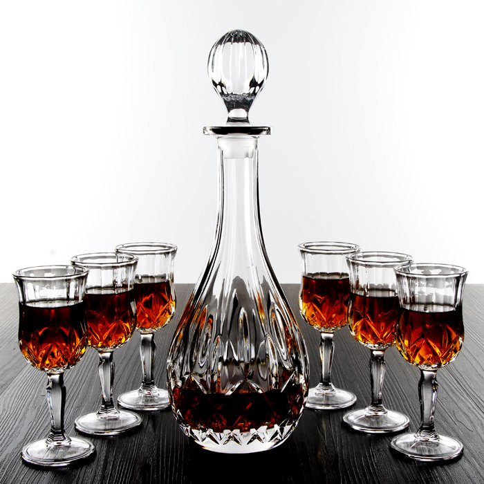 Gorgeous European Style Krystal Wine Glasses sets