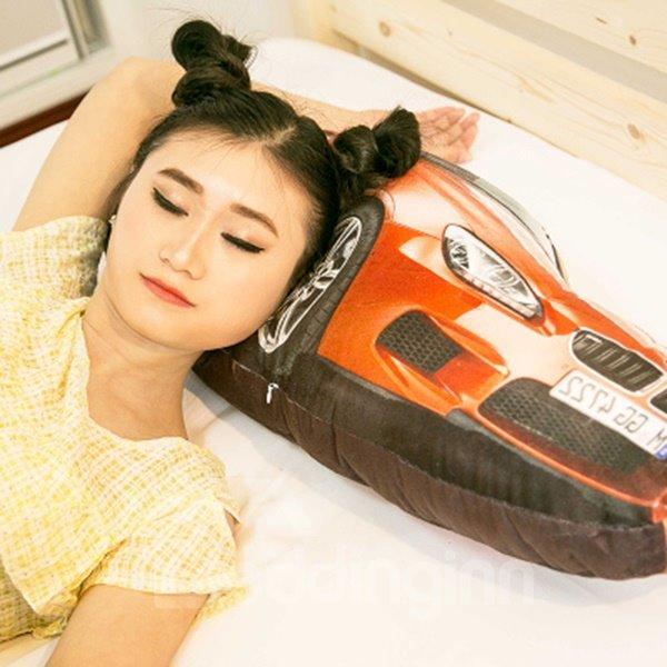 Unique luxurious Car Shape Design Throw Pillow