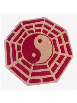 Characteristic Chinese Bagua Pattern Bath Rug