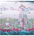New Arrival Fantastic Scarecrow Cotton 4-Piece Duvet Cover