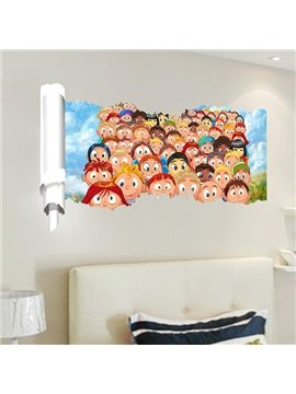 New Arrival Cartoon Pattern 3D Wall Stickers