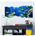 New Arrival Sea and Fish Pattern 3D Wall Stickers
