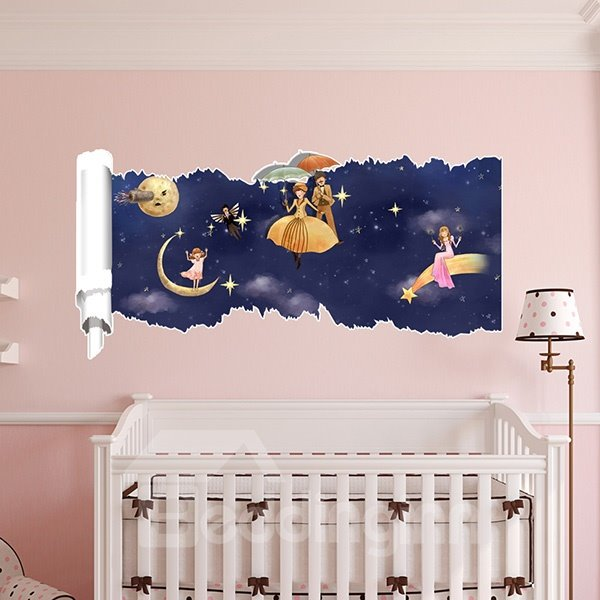 New Arrival Creative Cartoon Character and Star 3D Wall Stickers