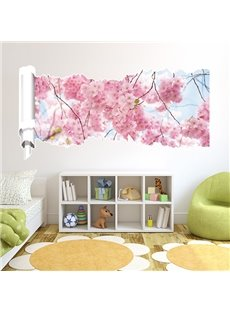 New Arrival Beautiful Sakura 3D Wall Stickers