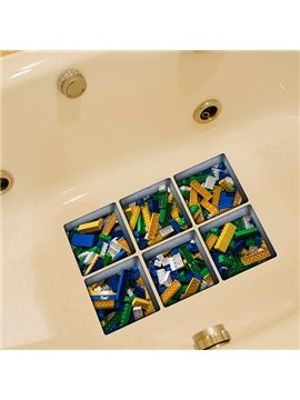 New Arrival Toy Pattern 3D Bathtub Stickers