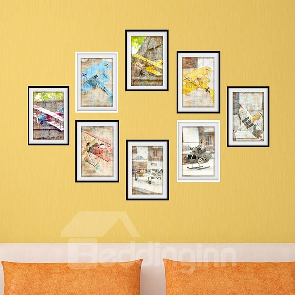 New Arrival Creative Airplane 3D Wall Art Prints