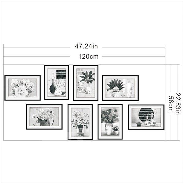 Beautiful Desktop Flowers Pattern Wall Art Prints