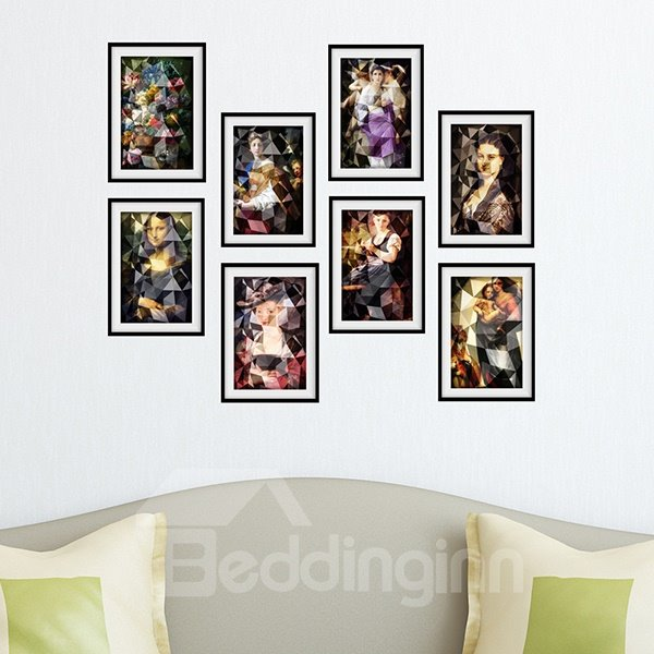 New Arrival Europe Celebrity Pattern Wall Art Prints