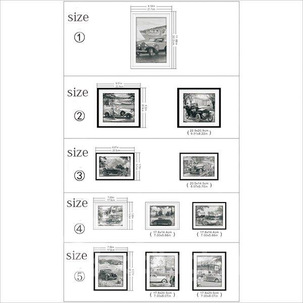 Hot Sale Ancient Car Pattern Wall Art Prints