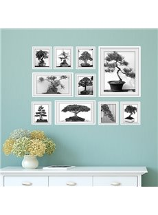 Creative Potted Plant Wall Art Prints