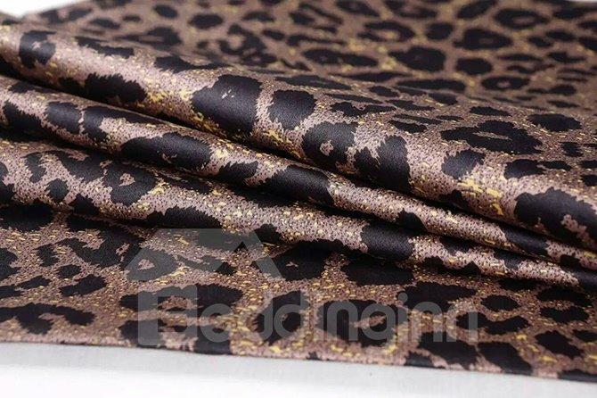 Fashion Leopard Print Cotton 4-Piece Duvet Cover Sets