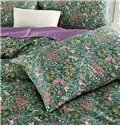 Super Cozy Flower Pattern Cotton 4-Piece Duvet Cover Sets