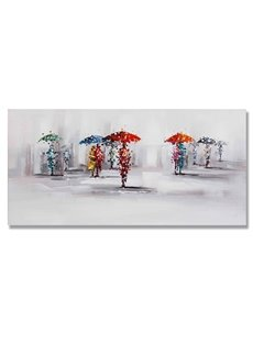 New Arrival Realism Umbrela Hand Painted Oil Painting