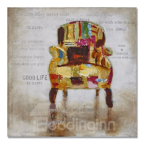 Single Modern Abstract Sofa Hand Painted Oil Painting 11983003
