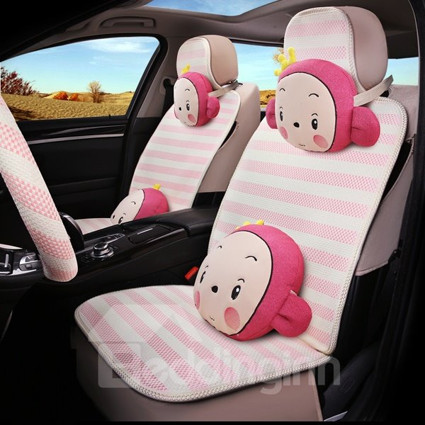 Cute And Funny Cartoon Monkey Car Seat Cover