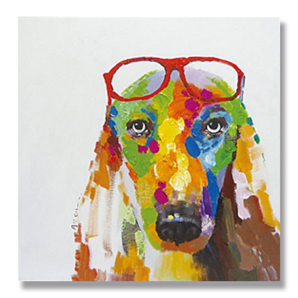 New Arrival Abstract Modern Dog Hand Painted Oil Painting 11983197