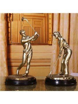 Modern Creative Resin Golf Desktop Decoration