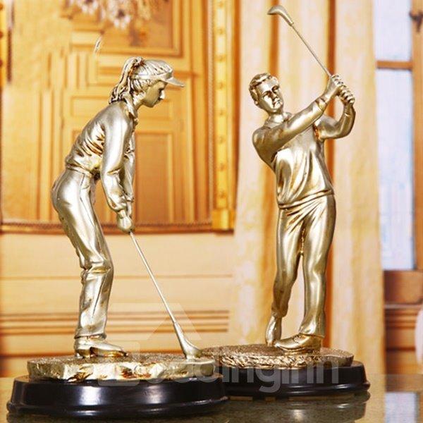 Modern Creative Resin Golf Desktop Decoration