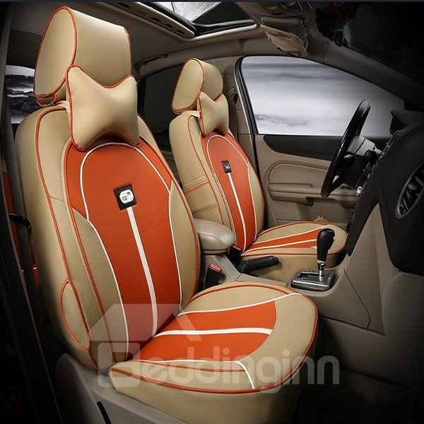 environmental breathable pu material car seat cover. Black Bedroom Furniture Sets. Home Design Ideas