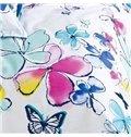 Fresh Pastoral Style Beautiful Butterflies Pattern 4-Piece Duvet Cover Sets